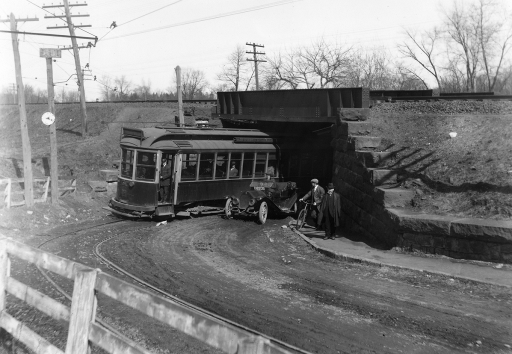 Five modes of transportation converge at the Death Trap