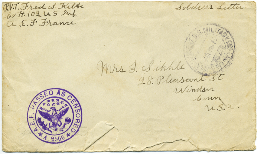 In His Own Words: Correspondence of an American Expeditionary Soldier