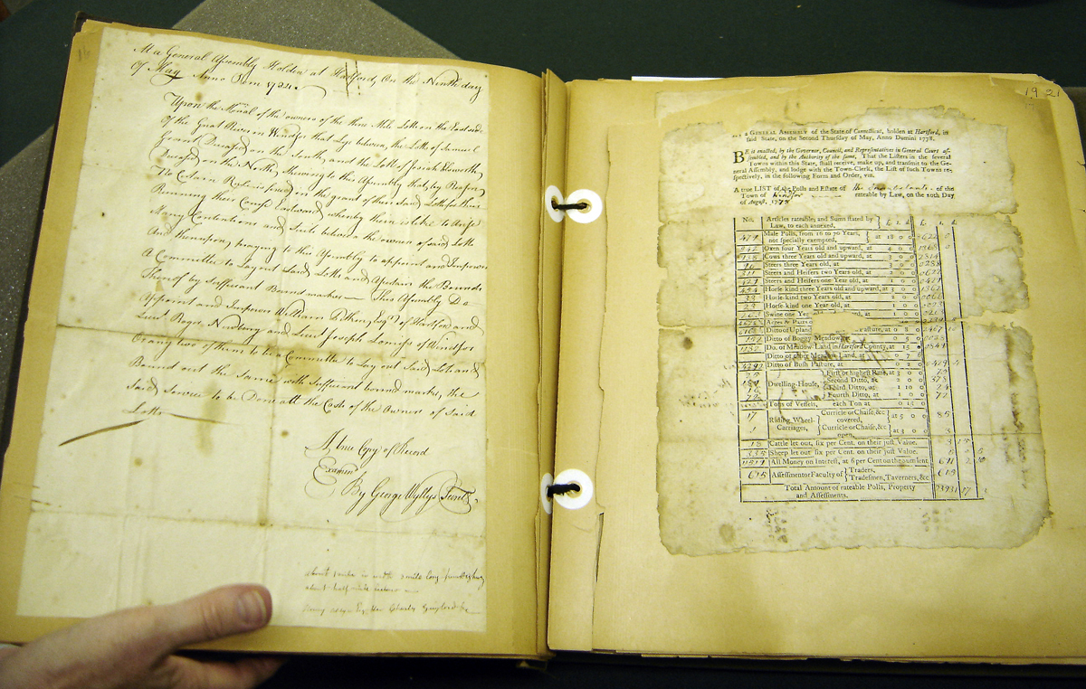 Conservation of the Daniel Howard Scrapbook Reveals the Rest of the Story