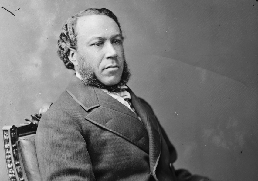 """I am contented to be what I am, so long as I have my rights."" -Joseph Rainey"
