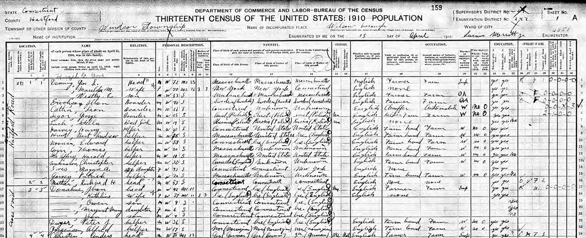 A Look Back: The 1910 Census