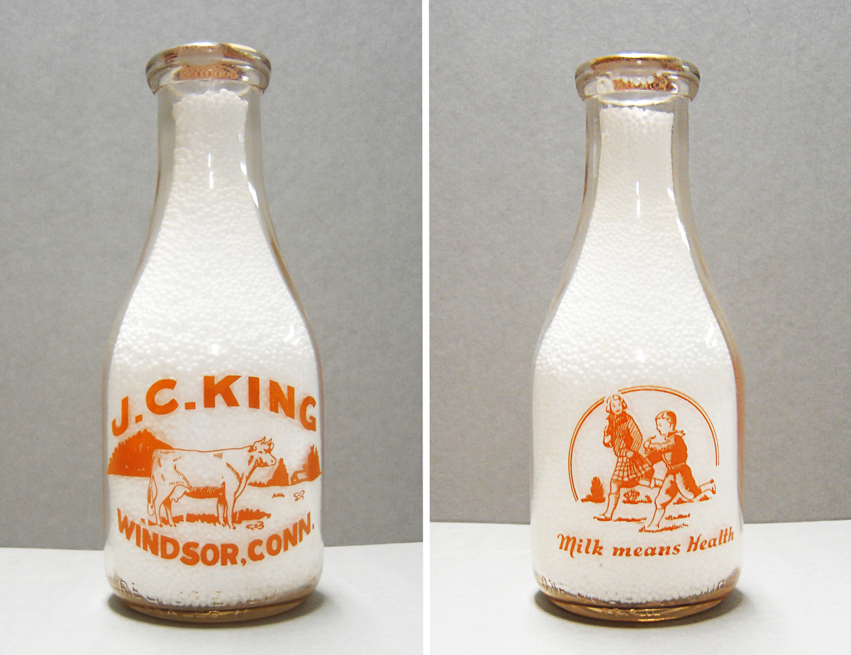 "Windsor Historical Society ""Milks"" Its Collection"