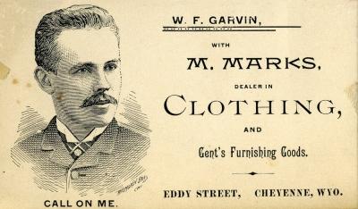 William Garvin business card