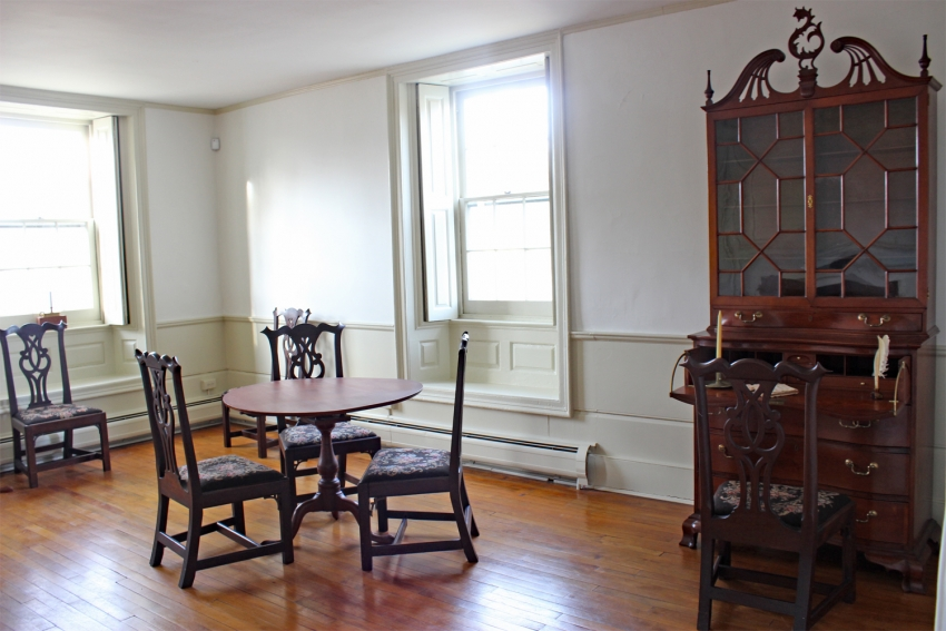 Chaffee House north parlor