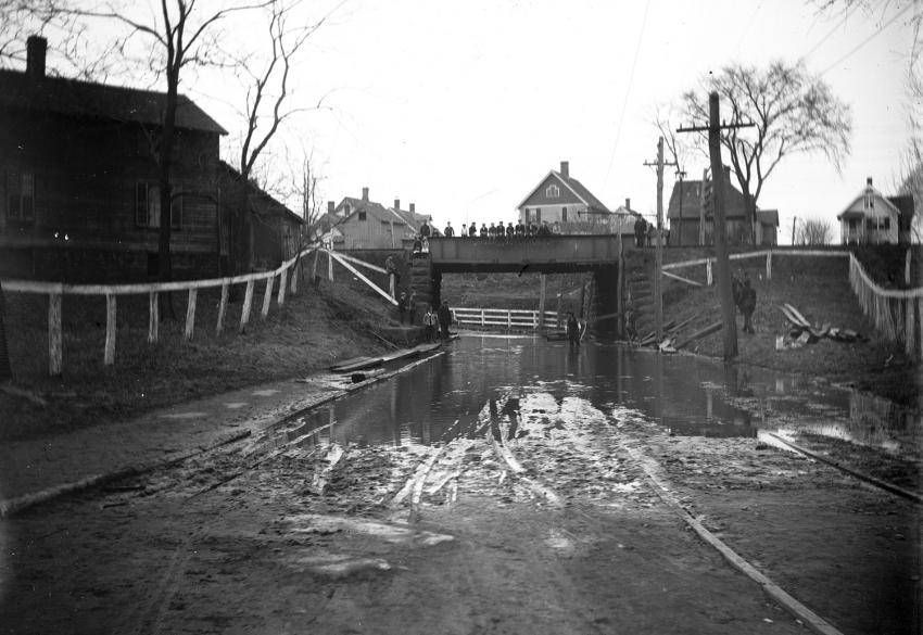 Flood under Death Trap