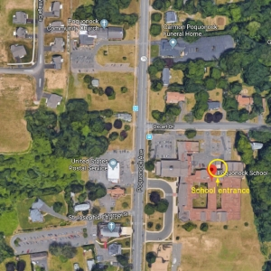 Poquonock School location