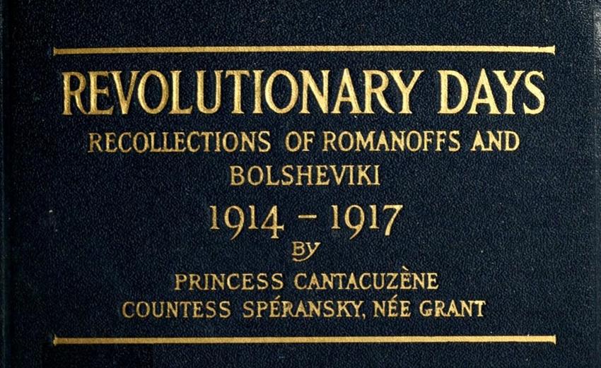 Revolutionary Days book cover
