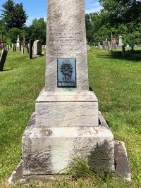 Anna Maria Benton's grave