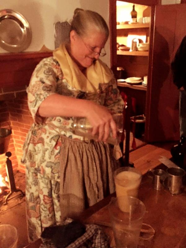 Becky Hendricks pouring flip