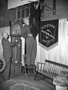 Windsor Historical Society exhibit