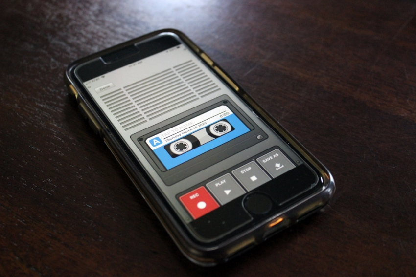 voice recorder phone app