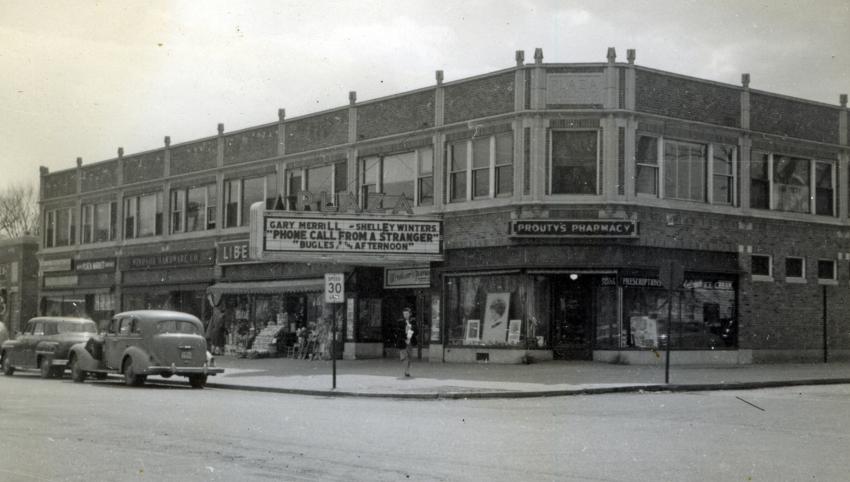 Plaza building, 1952
