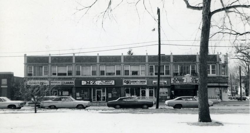 Plaza building, 1969