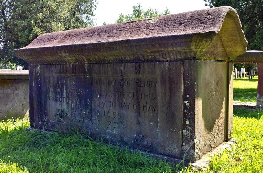 Henry Wolcott Sr grave
