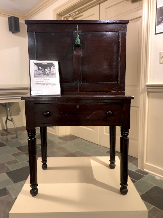 desk from Owen Hayden's store