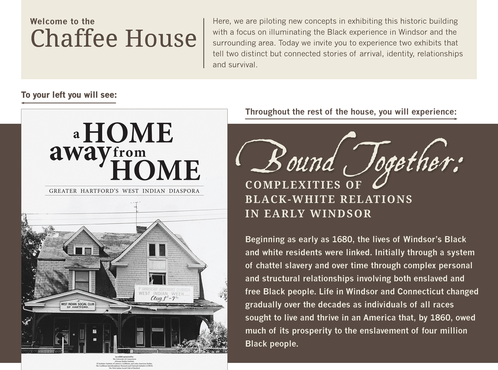Chaffee House Reopens with New Exhibit and Inclusive Reinterpretation