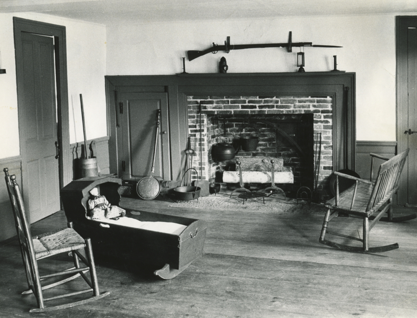 Strong-Howard House Keeping Room, c. 1960
