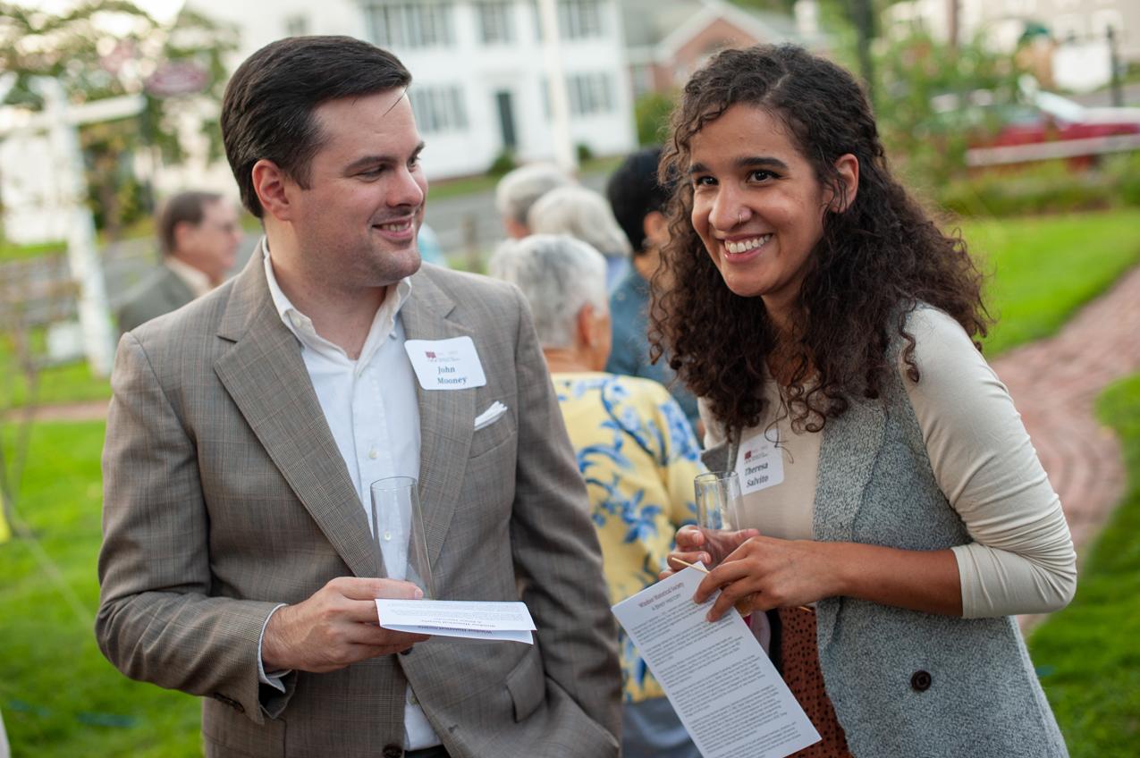 John Mooney and Terri Salvito