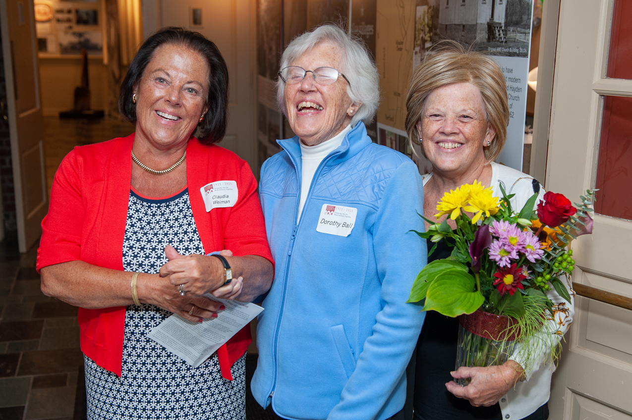 Claudia Weiman, Dorothy Ball, and Priscilla Barber