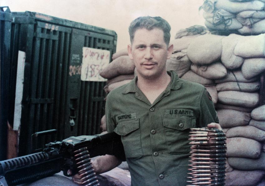 """Leighton """"Skip"""" Hammond in Vietnam"""